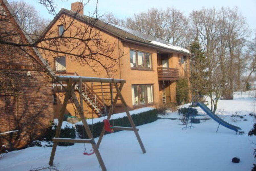 Südseite im Winter