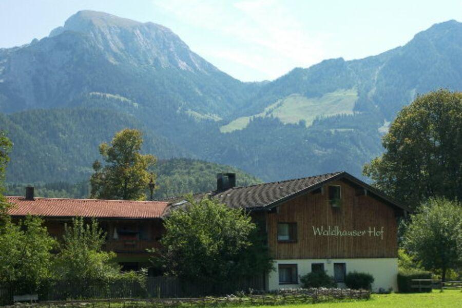 Ein Blick auf den Waldhauserhof