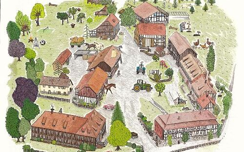 Gutshof Baumbach - Ferienhaus 1