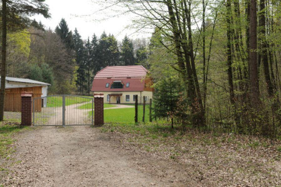 Zufahrt zum Forsthaus