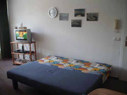 Wohnung 29 Bettsofa nachts