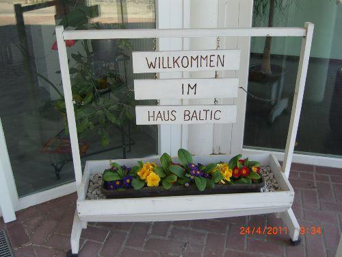 Haus Baltic, Eingangshalle