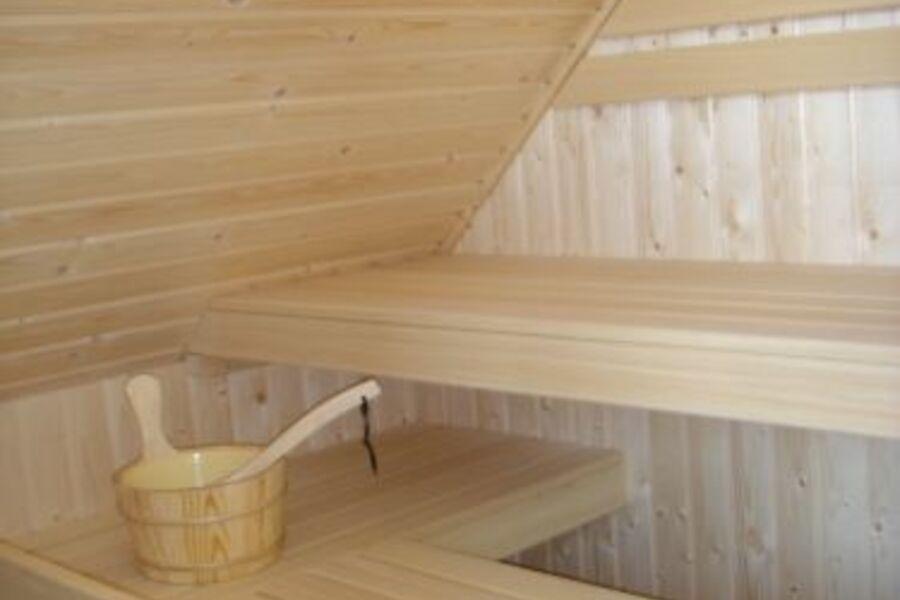 Ferienhaus Sauna