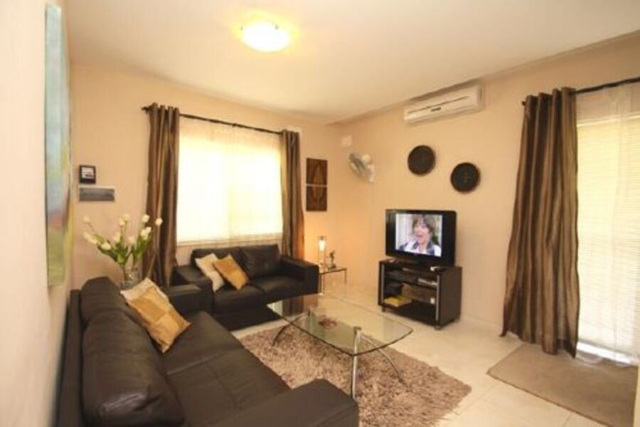 Comfy and air-conditioned living room