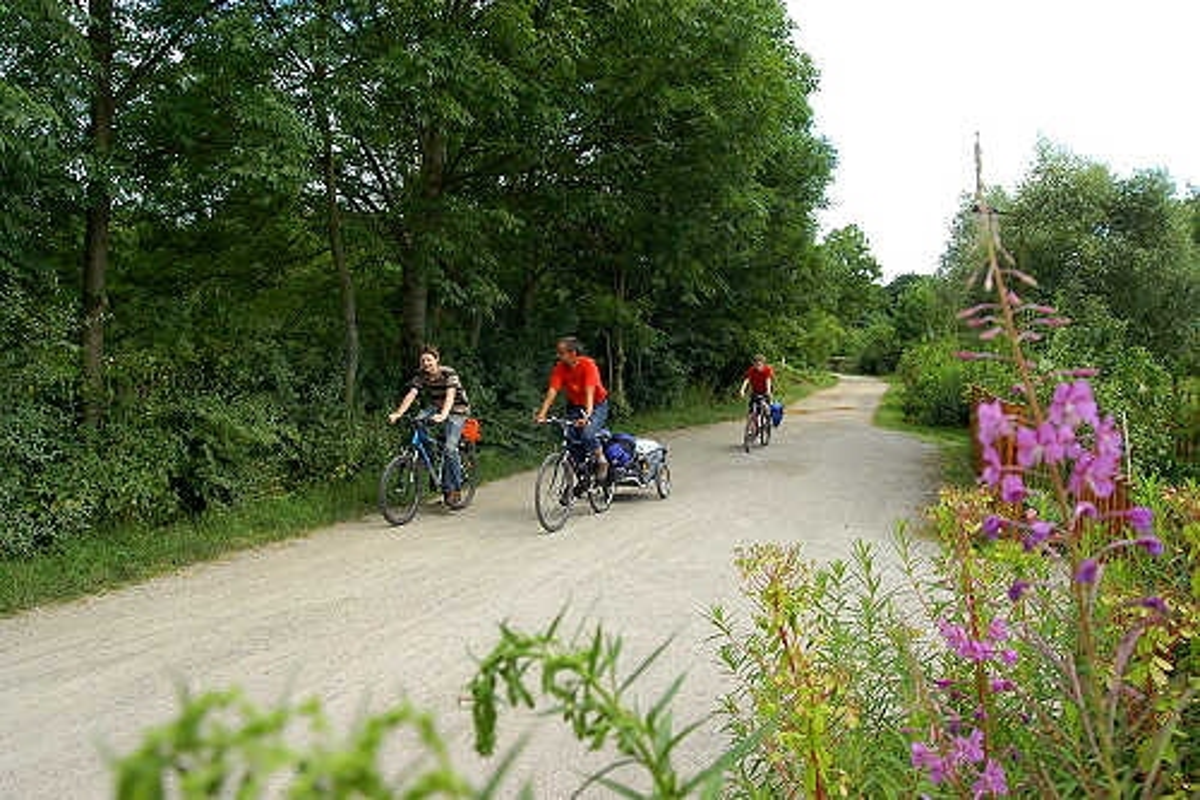 Rad fahren im Weimarer Land