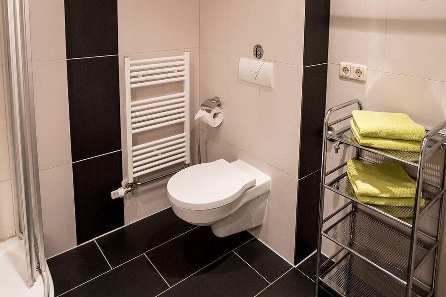 Ferienwohnung 1, Dusche / WC