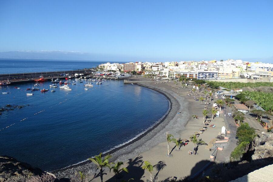 Die Bucht von Playa San Juan