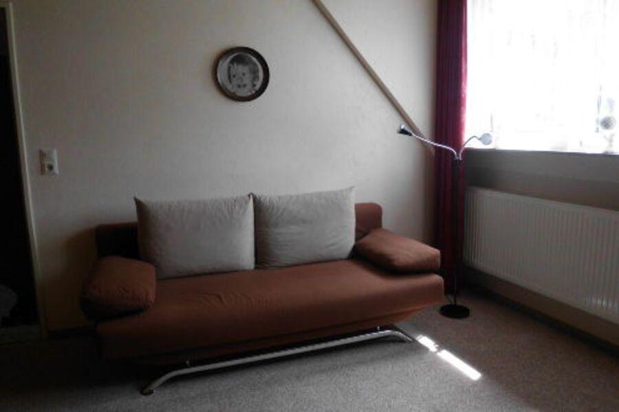 2.Schlafmöglichkeit Wohnzimmer