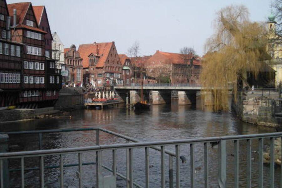 beliebtes Wasserviertel zum Entspannen