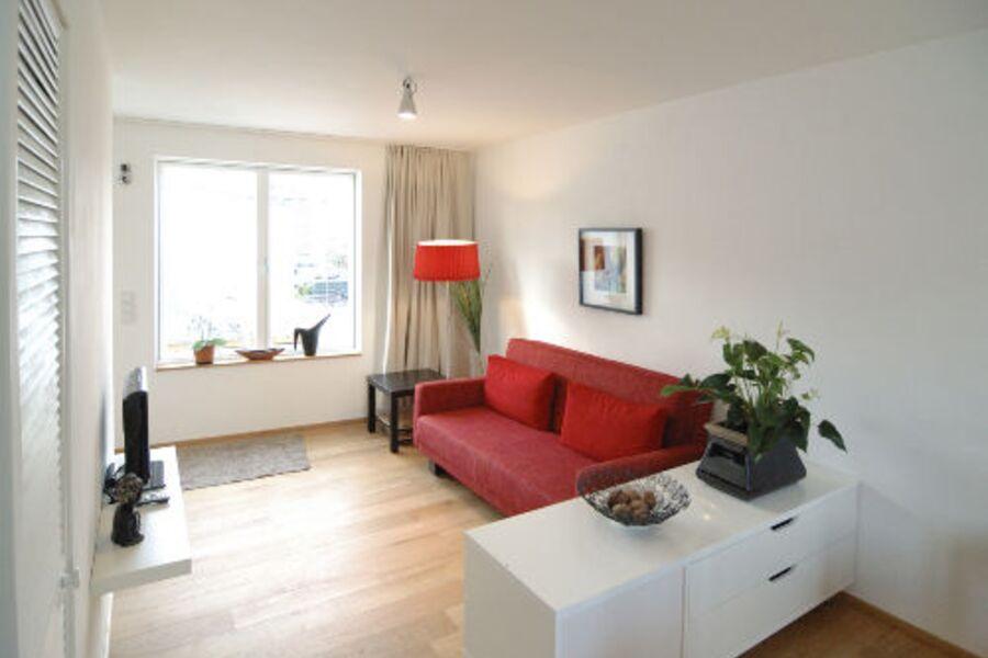 Ferienwohnung Maarviertel: Wohnraum