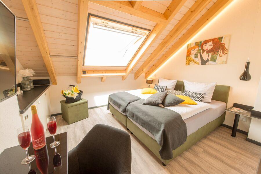 Premium-Doppelzimmer-Apartment mit Küche