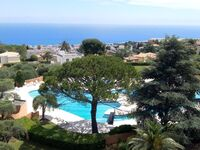 Les Belles Terres 1 - Luxuswohnung mit Meerblick und Pool in Nizza - kleines Detailbild