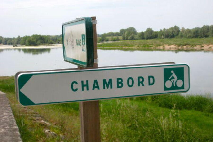 Chambord ist per Fahrrad erreichbar