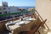 Sehr sonnige Terrasse mit Meerblick