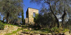 Sarazenenturm mit Atelier in Prelà - kleines Detailbild