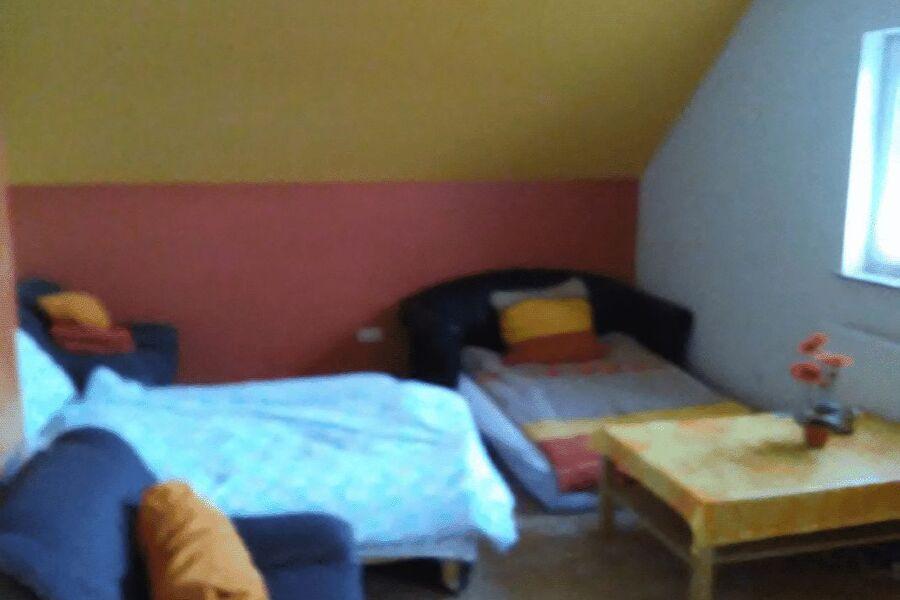 Ausziehbare Sofa`s im Wohnzimmer 4 Pers.