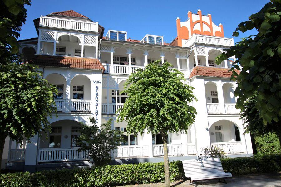 Villa Strandidyll von der Promenade aus