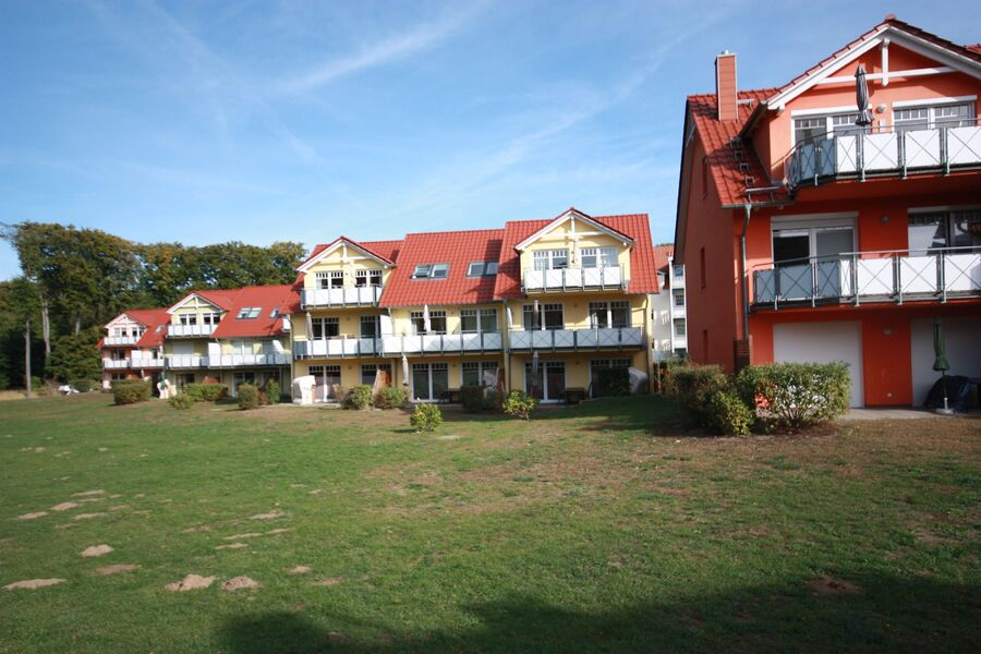 Gartenansicht Ferienpark Streckelsberg