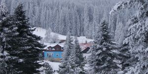 Blaue Haus in Pernink in Pernink - kleines Detailbild