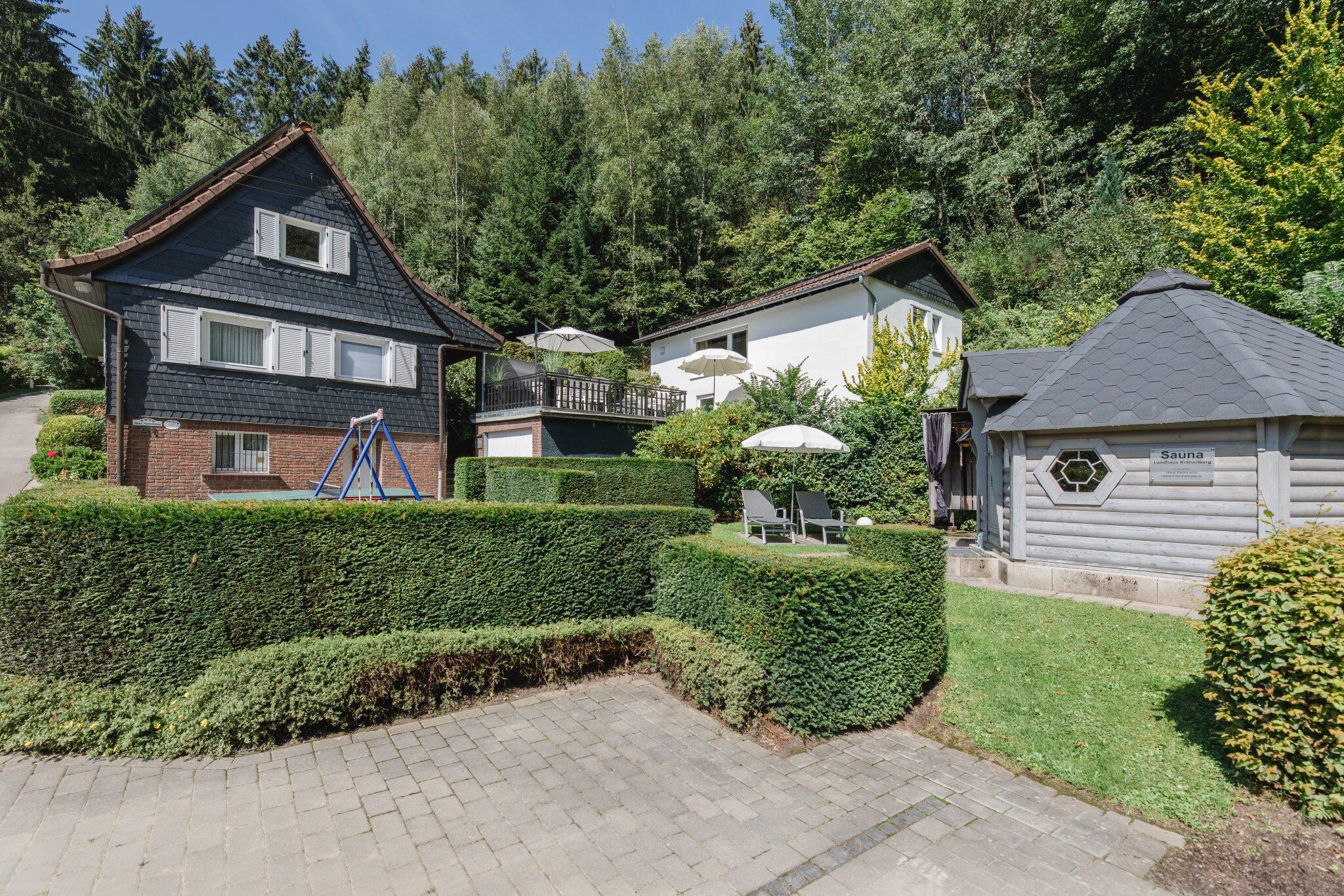 haus panoramablick in eslohe nordrhein westfalen wilma tillmann. Black Bedroom Furniture Sets. Home Design Ideas