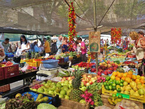 Sonntagsmarkt in Pollensa