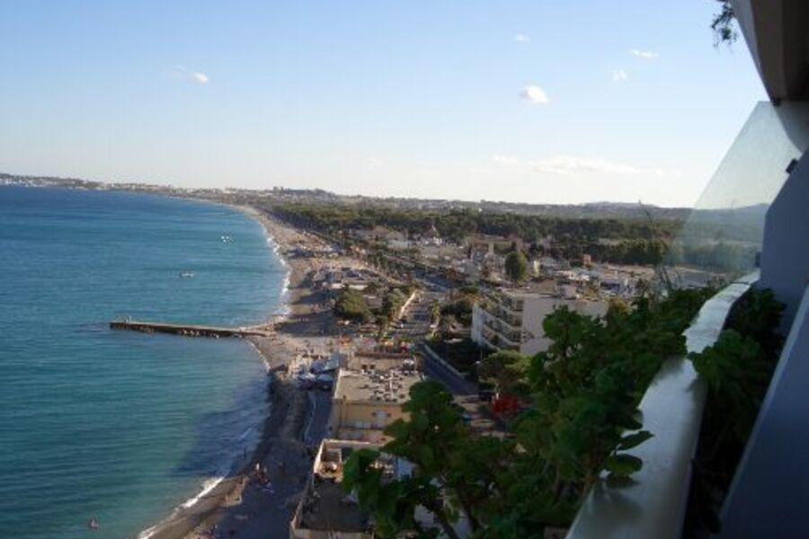 Blick vom Balkon Richtung Antibes
