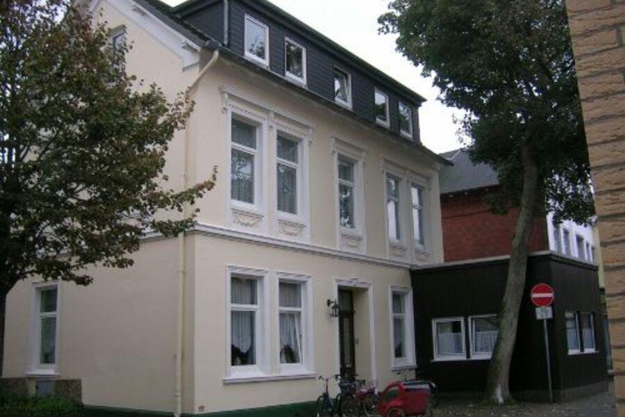 Außenansicht Hiddes Hus, Borkum