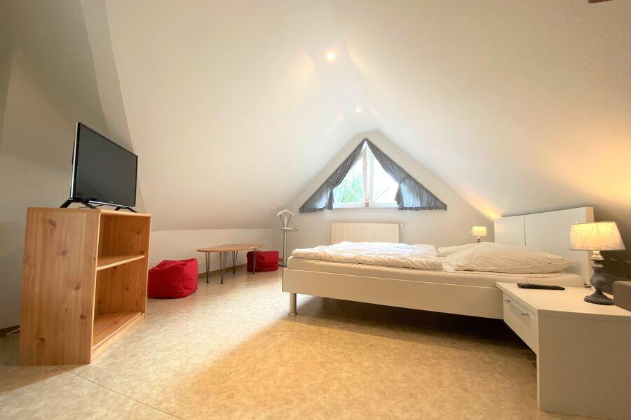 das dritte Schlafzimmer im Dachstudio