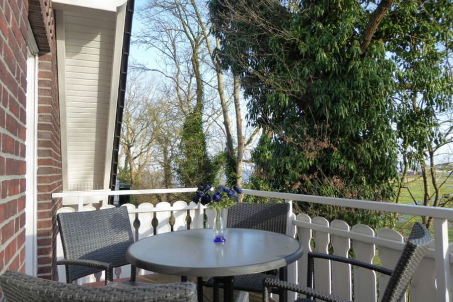 Die Wohnung 7 mit idyllischem Balkon!