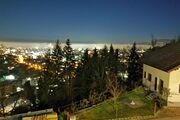 Blick über Dornbirn bei Nacht