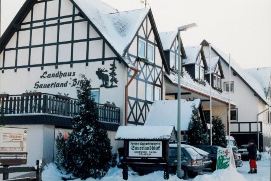Winter im Sauerland-Blick
