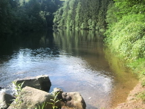 Bademöglichkeit in 1 km Entfernung