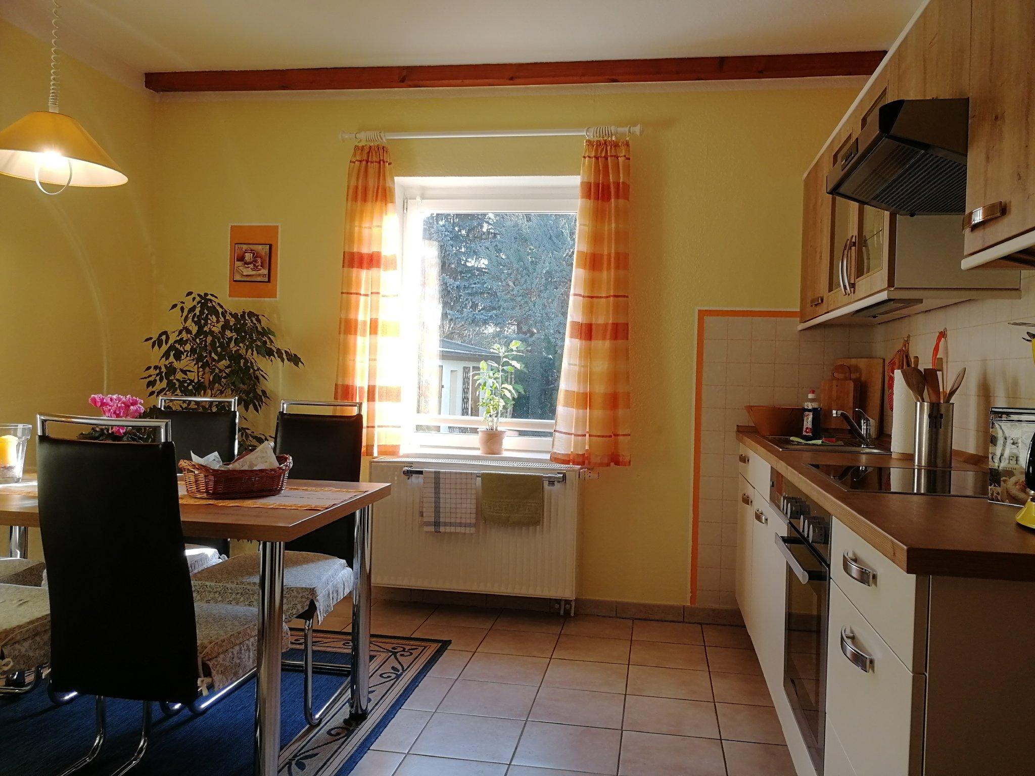 Wohnküche, Küchenzeile