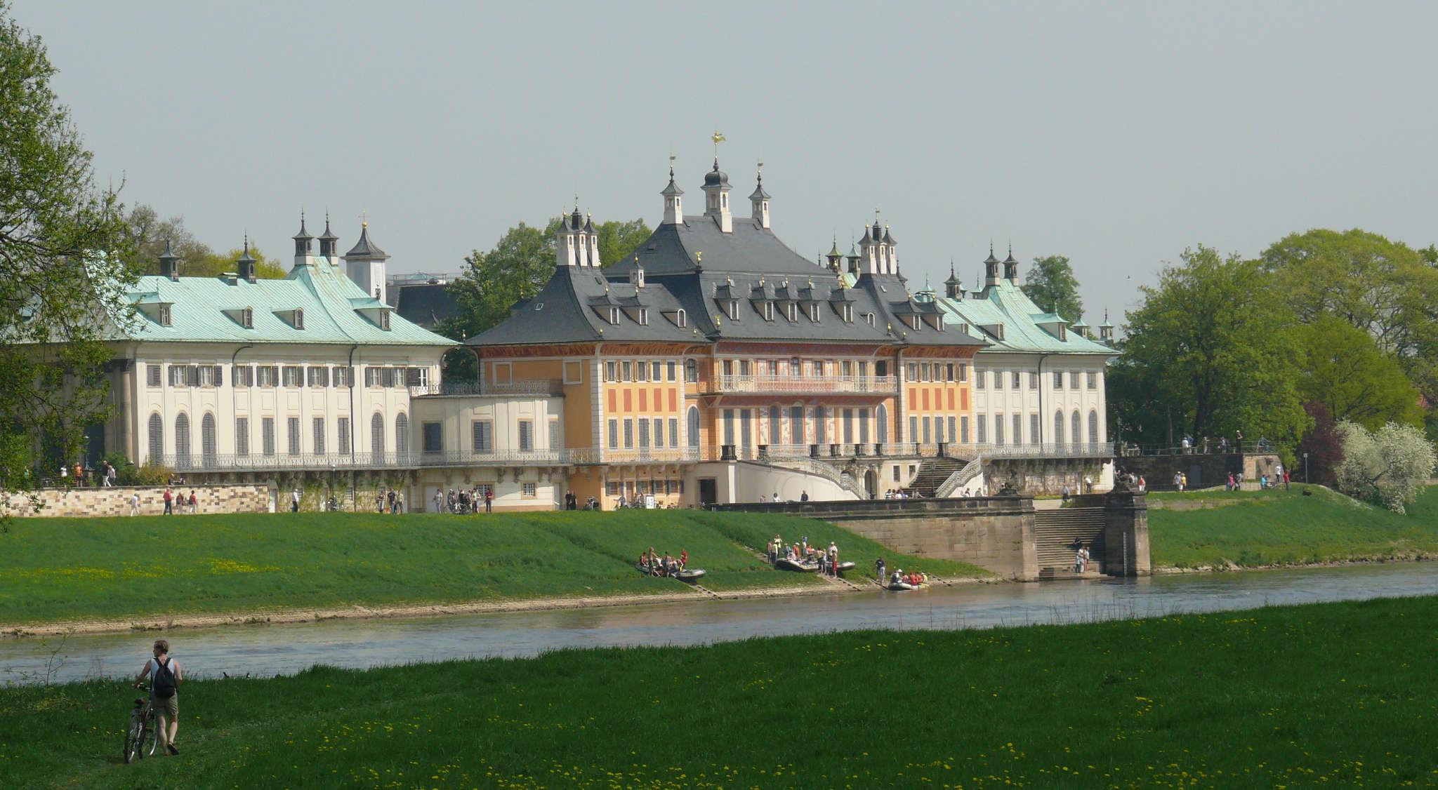 Schloß mit Park Pillnitz