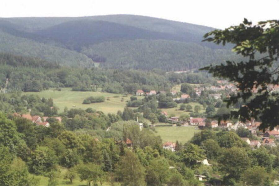 Unser Haus (in Bildmitte), Beerberg