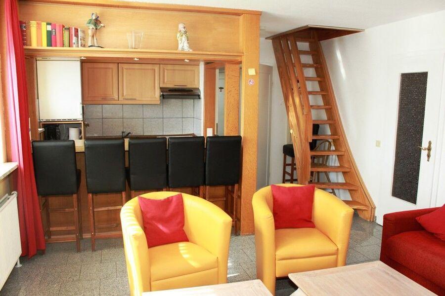Küchenbereich in allen Wohnungen