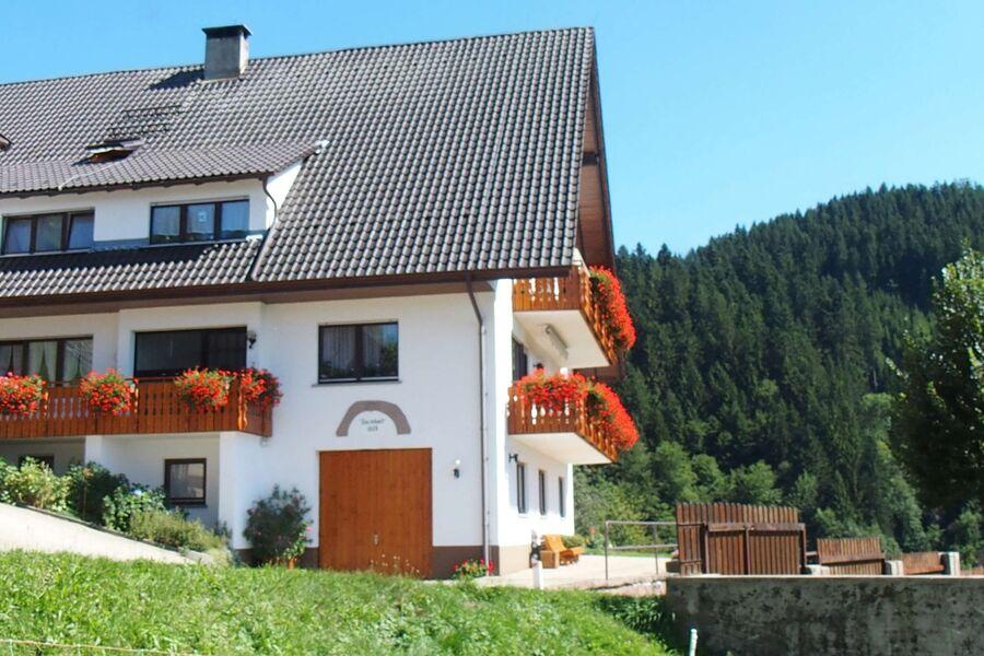 Ferienhaus Müllerbauernhof in der Natur.