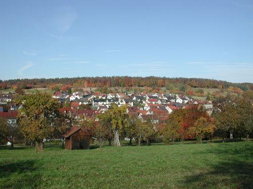 Das Dorf Hößlinswart