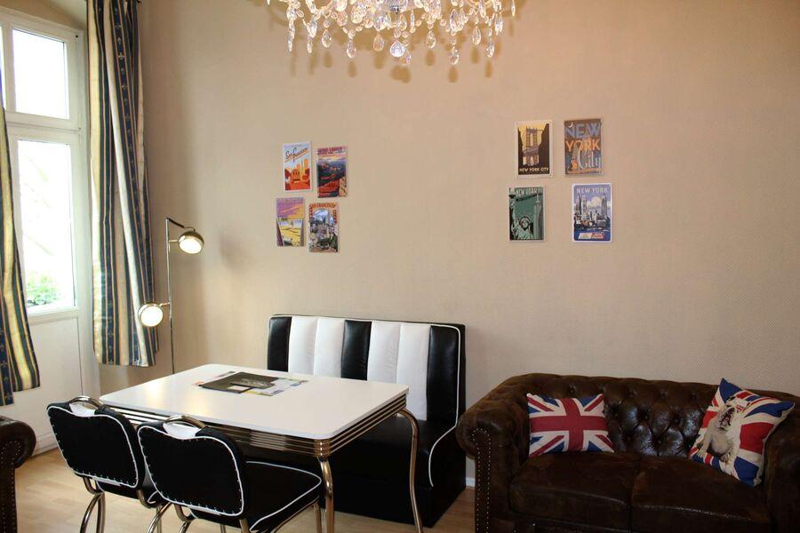 American Diner Essplatz im Wohnzimmer