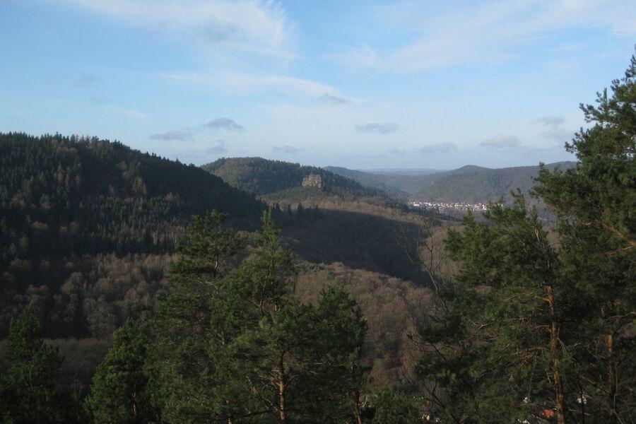 Die Wassergasse in Annweiler am Trifels