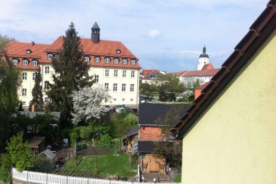 Blick auf die Südseite des Hauses