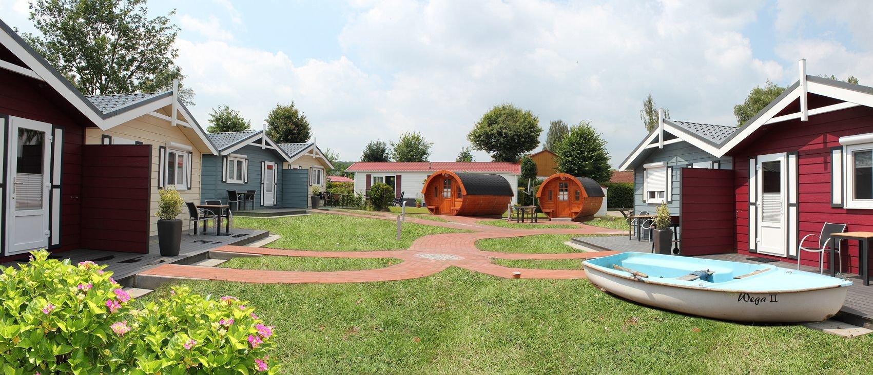 Ferienbungalow Campingplatz Datteln