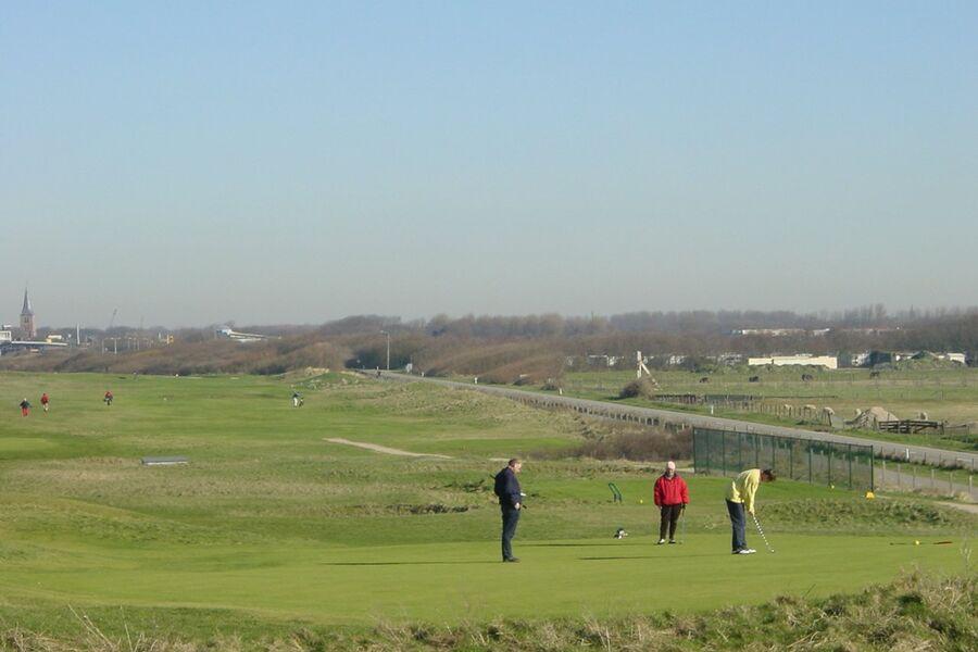 Golfplatz auf 500m