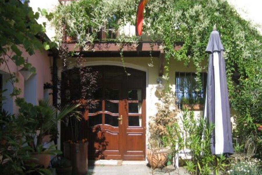 Eingang Ferienwohnung Biebrich