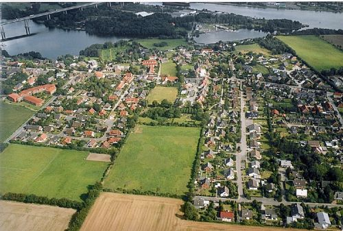 Blick auf Borgstedt