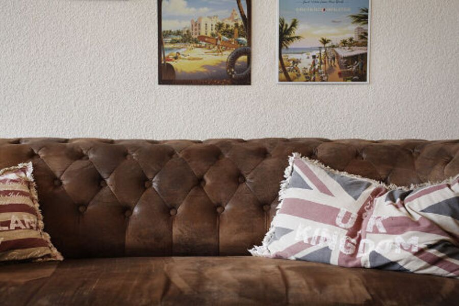 Vintage Chesterfield-Sofa