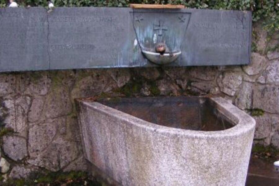 der sagenumwogene Fieberbrunnen