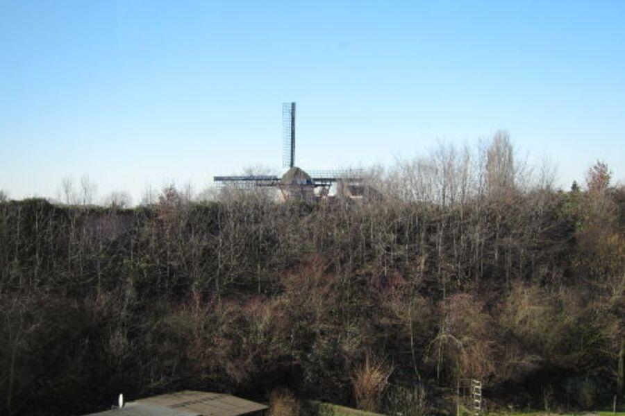 Blick auf die Baumeister Mühle