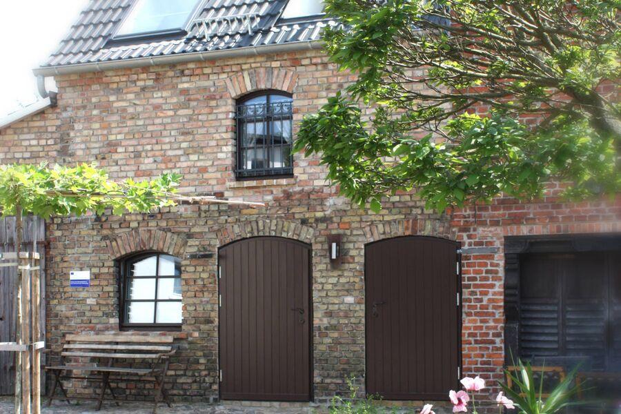 Eingang zum Wohn- u. Kochbereich