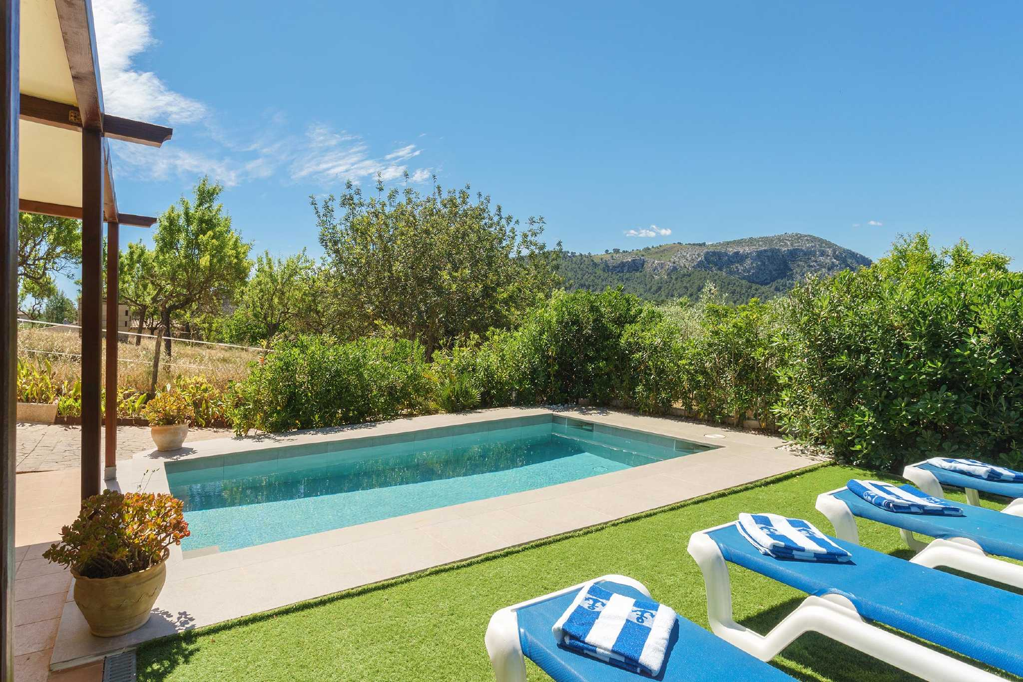 Finca mit Pool in Pollensa